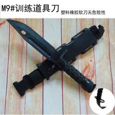 Нож M9 тактический нож резиновые обучение