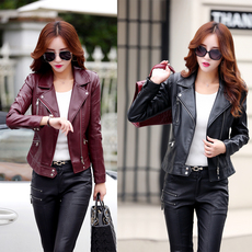 Leather jacket OTHER 636 2016