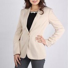 Spring and autumn boutique clothing mature one button