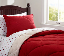 PBK* super soft cashmere red feather quilts quilt bed cover feels very soft