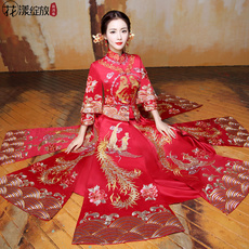 Cheongsam dress Blossoming of Maximo Oliveros