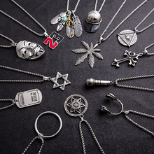 Hiphop Titanium Necklace, Street Trendsetter in Europe and America