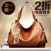 Bags handbags 2013 new wave of European and American casual shoulder bag big bag ladies hand diagonal package