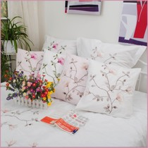 Foreign trade brand cotton bedding fresh hug pillowcase embroidered cushions 45*45CM--65*65CM
