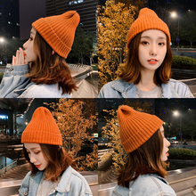 Wool Hat Woman Winter Korean Edition Sweet and Lovely Fashion Japanese Fall and Winter Knitted Hat Korean ins Tide