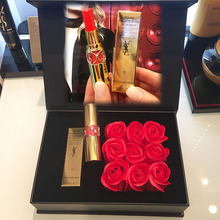 Hongkong special store post YSL/ Saint Laurent round tube Lipstick Rose Gift Set 12 cut male color 92