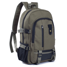 New Special Wear-resistant Canvas, Large Capacity Men's Shoulder Bag Travel Backpack Fashion Men's College Student Bag