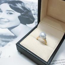 Sea water cool light Australian white real diamond ring