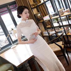Платье Ципао x0342