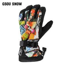 Перчатки для водных лыж Gsou snow