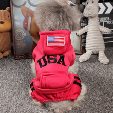 Puppy clothes Teddy's four-legged clothes are better than bear puppies'Pets' autumn and winter clothes. Chihuahua, a small dog, winters Schnauzer