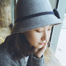 Hat, autumn, winter, winter, women, winter, Korean, dome, hat, hat and hat.