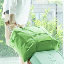 Korean version foldable luggage with large capacity for traveling bags