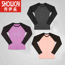 New yoga suit long sleeve sports oversized loose top