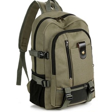 . new special price canvas, large capacity backpack for men, backpack for traveling, fashionable schoolbag for middle school and University Students