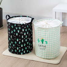 Large Nordic cloth folding dirty clothes basket for clothes toys storage basket for clothes basket dirty clothes basket