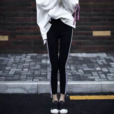 Leggings Euro/cargo white feet leggings