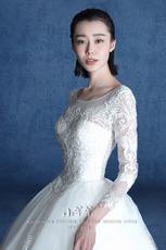 Wedding dress hs160058 2016