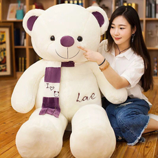Soft toy Beautiful umesong Bear scarf
