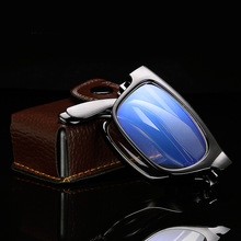 Anti radiation and anti blue light folding anti fatigue presbyopic glasses for men and women