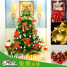 Christmas tree encrypt luxurious package 1.2/1.5/1.8/2.1/2.4/3/4 m layout decoration