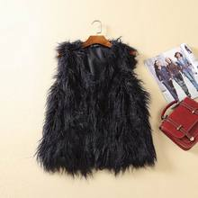 Foreign trade autumn and winter new beach wool fur imitation coat