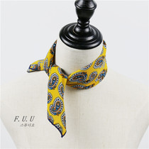 In spring and autumn in small small square scarves Joker fixture in Korea Korean female flight attendant scarf scarves scarf band career