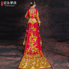 Cheongsam dress Ailuohua in accordance with
