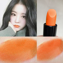 Very positive orange ~ pumpkin color female student style Li Jiaqi Jiaqi net red niche brand sheloves lipstick