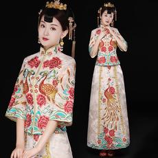 Платье Ципао Shes leaning Ko qyg/0935