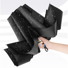 Reverse folding umbrella large sunshade for men and women in sunny and rainy days