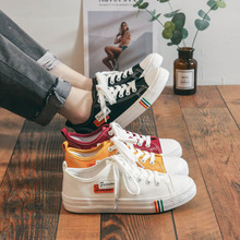New style canvas shoes for female students in 2019 spring
