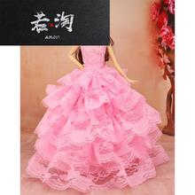 Change wedding dress, doll dress, suit, single simulation dress, girl Princess toy, 12 joints body
