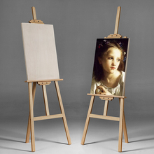 Multifunctional 1.5-1.7m Painting Frame Set Folding 4K Painting Sketch Sketch Sketch Sketch Sketch 4 Open Solid Wood Beginner Children's Art Painting Tool Adult Stand Wood Oil Painting Frame