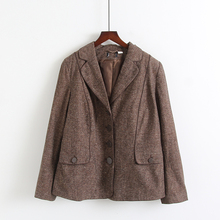 Spring and autumn women's Korean loose coat suit