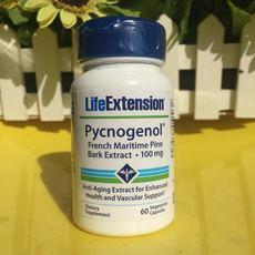 Пикногенол. Life extension Pycnogenol 60