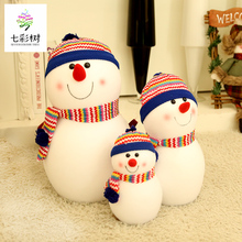Snowman doll Christmas decorations Snowman doll family three scene decoration decoration Christmas Snowman