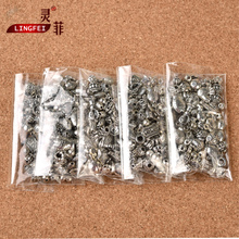 Lingfei package mail Tibetan silver accessories material bag manual DIY pendant partition Pearl crystal jewelry silver accessories