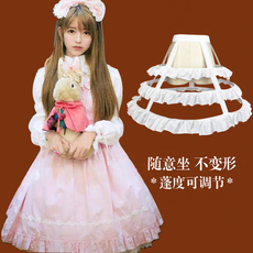 Wedding crinoline Lolita Cosplay
