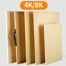 Sketching and sketching on drawing board 4K, special portable for art students, beginners, wooden hollow solid 2K, split solid wood a288k, half Wooden Easel set, full set of tools, easel sketch