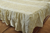 Cotton twin bed skirt Hat 100*200CM