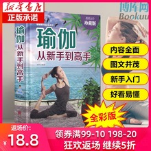Authentic yoga from novice to master slimming and body building course yoga style complete Yoga Book slimming Yin Yoga Slimming artifact Beginner Yoga textbook slimming and body building yoga exercise book