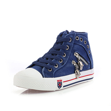 Clearance special price 2019 spring children's canvas shoes Korean boys' and girls' leisure shoes breathable children's shoes board shoes