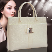 2014 new summer fionista bag lady crocodile bag trend of Korean fion leather handbag