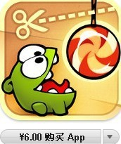 App store �Ї�^ Cut the Rope iphone ipad ��Ҏ��ُ���Q�a