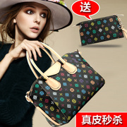A special leather fion female bag 2014 new fionista handbag oblique cross bag ladies leisure bag mail
