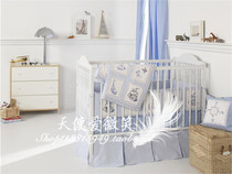 American brand WhistleWink-High Seas surrounding baby bed rails bed quilt four set