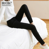 Spring and summer slim slim skinny black Joker pencil stretch pants