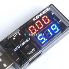 USB Current Voltage Tester Ammeter Detector