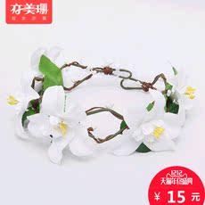 заколка в виде цветов Also Meishan